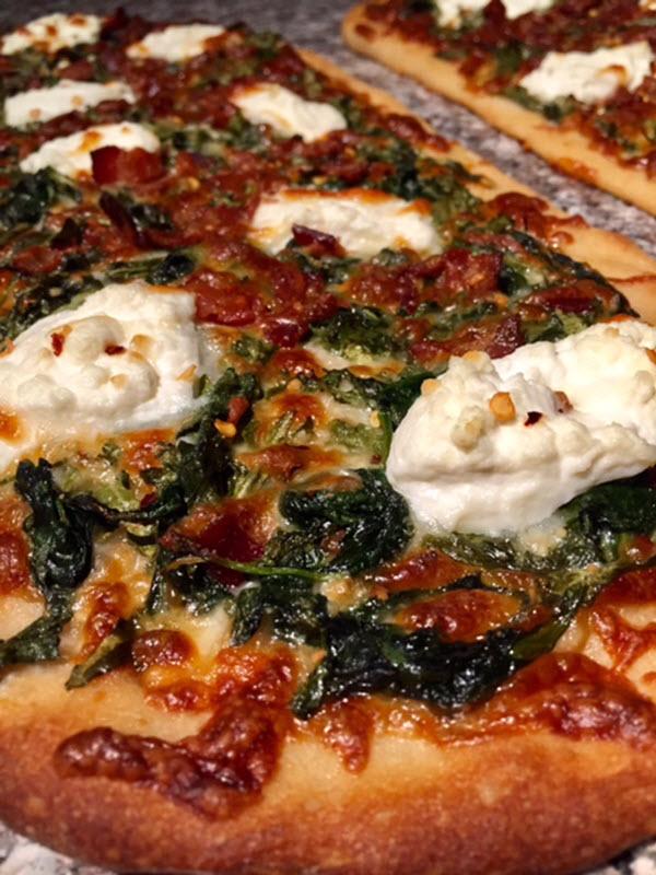 pre-sliced pizza